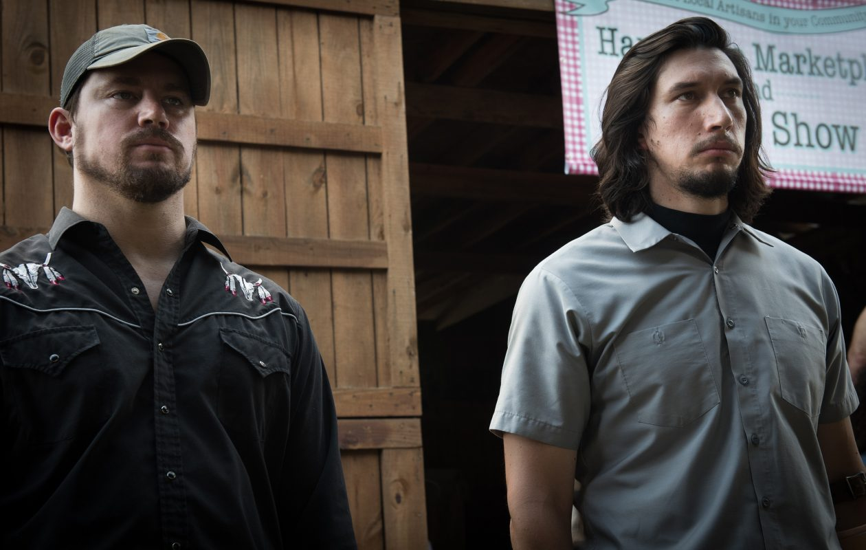 Channing Tatum and Adam Driver play brothers in 'Logan Lucky.'