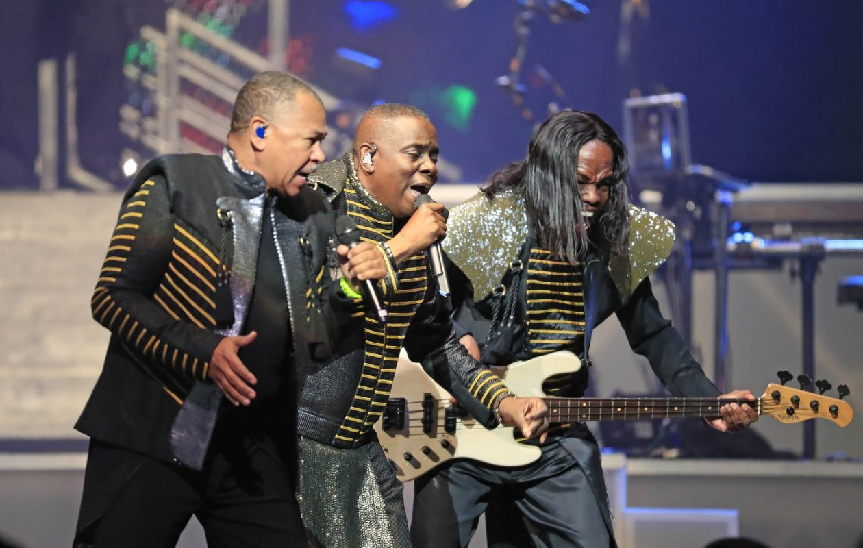 Earth Wind and Fire perform at the KeyBank Center. (Harry Scull Jr./Buffalo News)