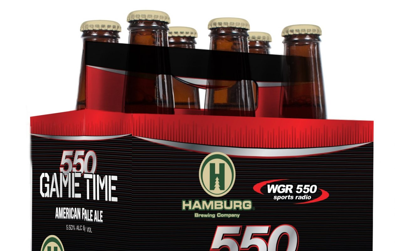 Hamburg Brewing Company and radio station WGR 550 have collaborated on the new beer Game Time.