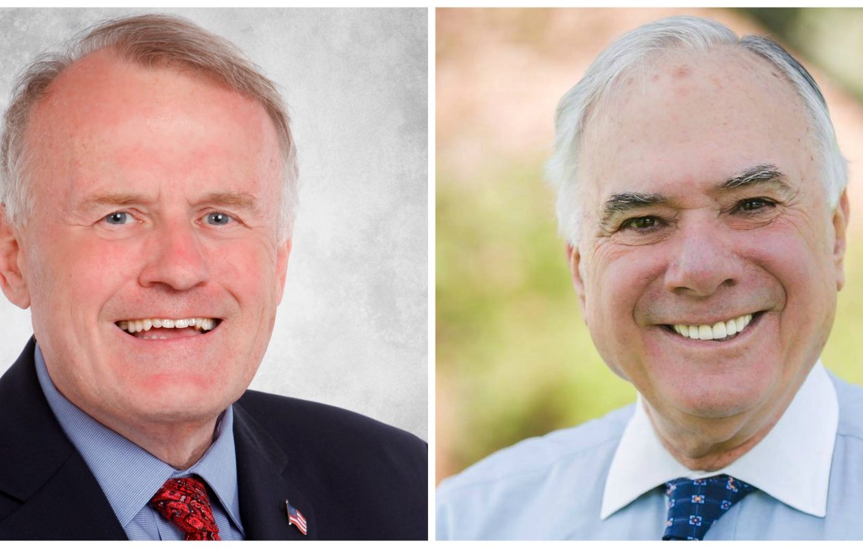 Dennis Gaughan and Jim Shaw  faced each other in the race for Hamburg town supervisor.