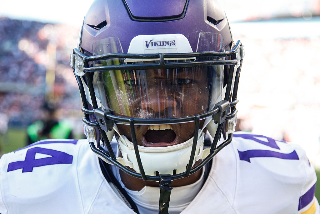 Stefon Diggs might be in for a season of in-your-face results. (Getty Images).