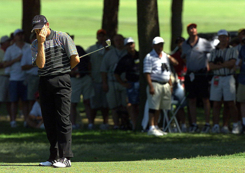 For much of his career, Sergio Garcia wallowed in excuses. (Allsport)