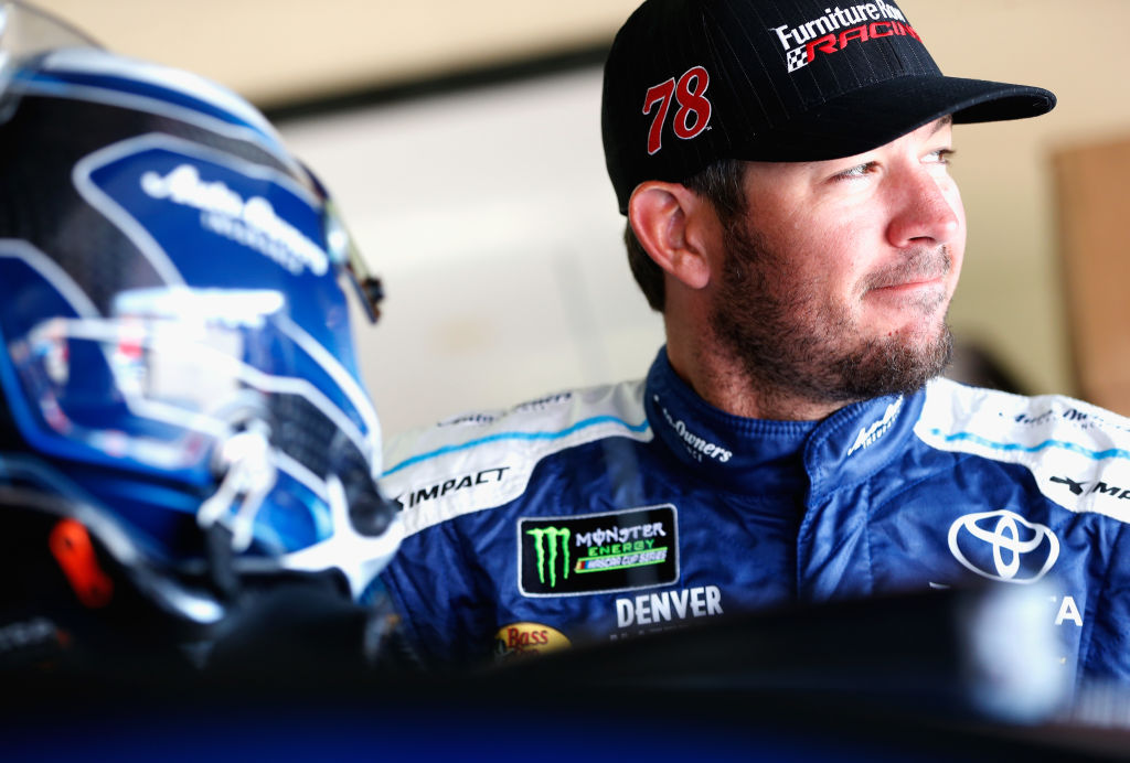 Martin Truex Jr. holds the points lead heading into Watkins Glen. (Getty Images)