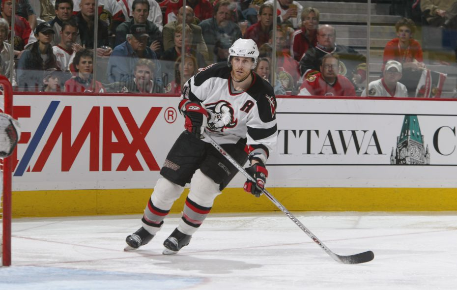 Former Sabres defenseman Jay McKee is in his second season as head coach of Kitchener. (Getty Images)
