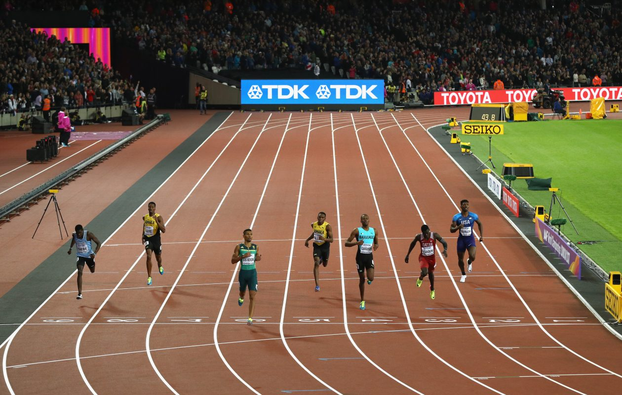 The 16th IAAF World Athletics Championships are being held in London. (Patrick Smith/Getty Images)