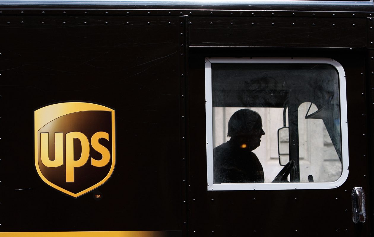 The New York State Teamsters Conference Pension and Retirement Fund includes UPS workers. (Getty Images)