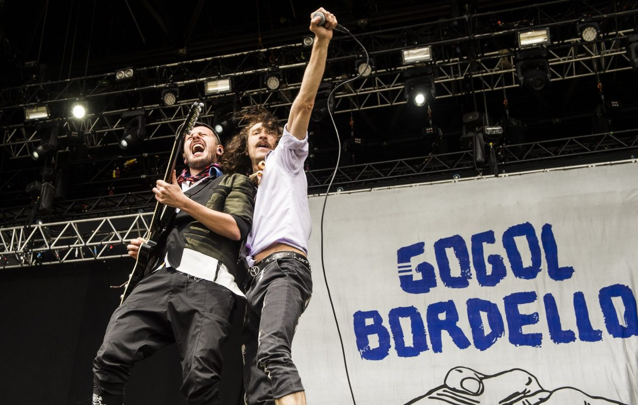 GoGol Bordello will be at the Rapids Theatre. (HELLE ARENSBAK/AFP/Getty Images)