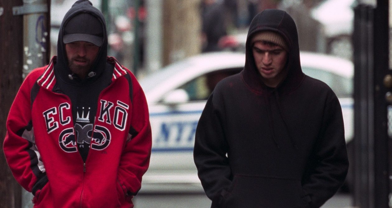 Robert Pattinson, left, and Ben Safdie are in the lowlife 'Good Time.' (A24)