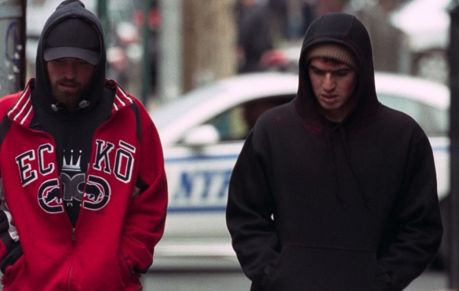 """Robert Pattinson, left, and Ben Safdie are in the lowlife """"Good Time."""" (A24)"""