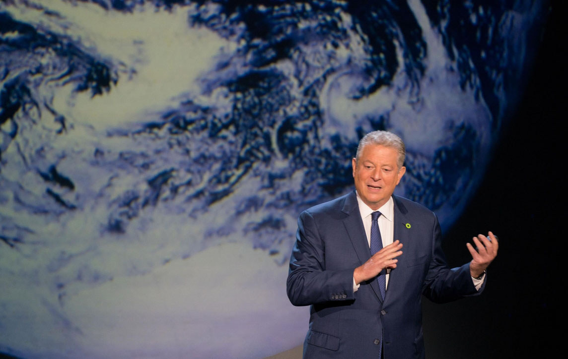 Al Gore gives an update on climate change in 'An Inconvenient Sequel: Truth to Power.""