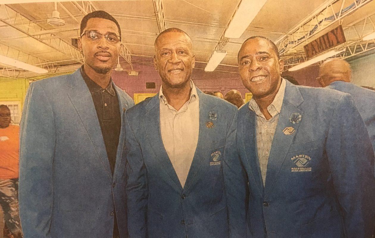 From left, Malik Campbell, Curtis Aiken and Tony Merriweather. (Buffalo News)