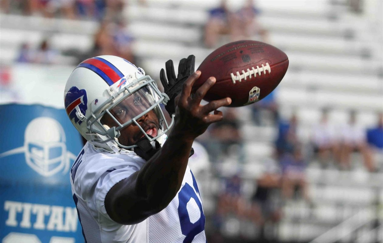 Anquan Bolding has reportedly decided to retire less than two weeks after signing with the Buffalo Bills. (James P. McCoy/Buffalo News)
