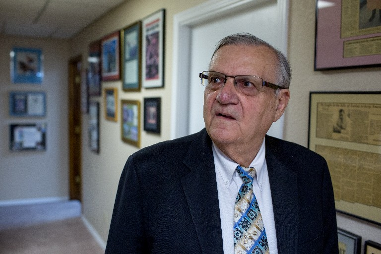 Trump pardons former Arizona Sheriff Joe Arpaio