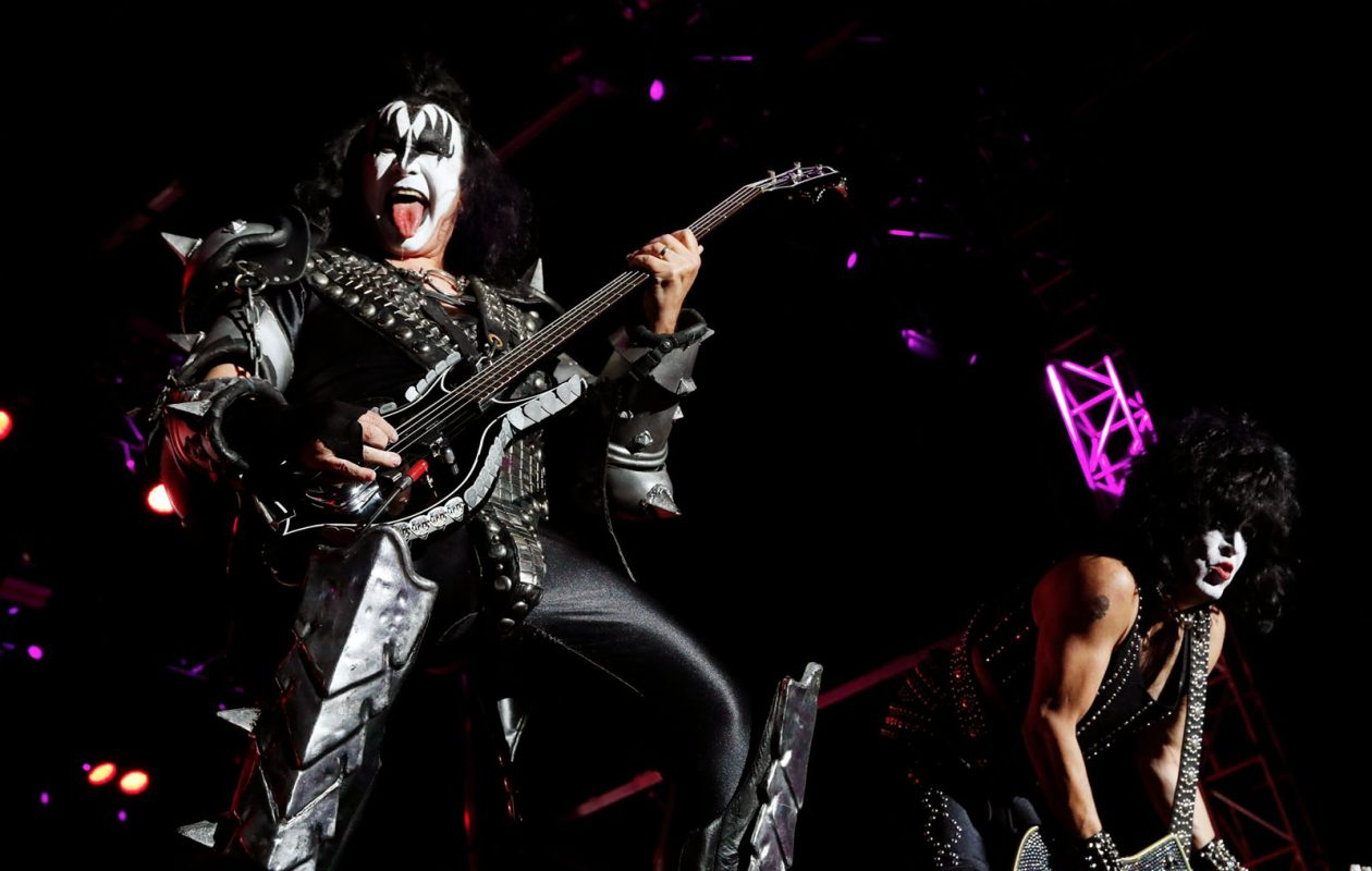 Kiss rocked the house at Seneca Niagara Casino in 2017. The band will play a 2019 concert at the Darien Lake Amphitheater on what it reports will be its final tour. (Sharon Cantillon/Buffalo News file photo)