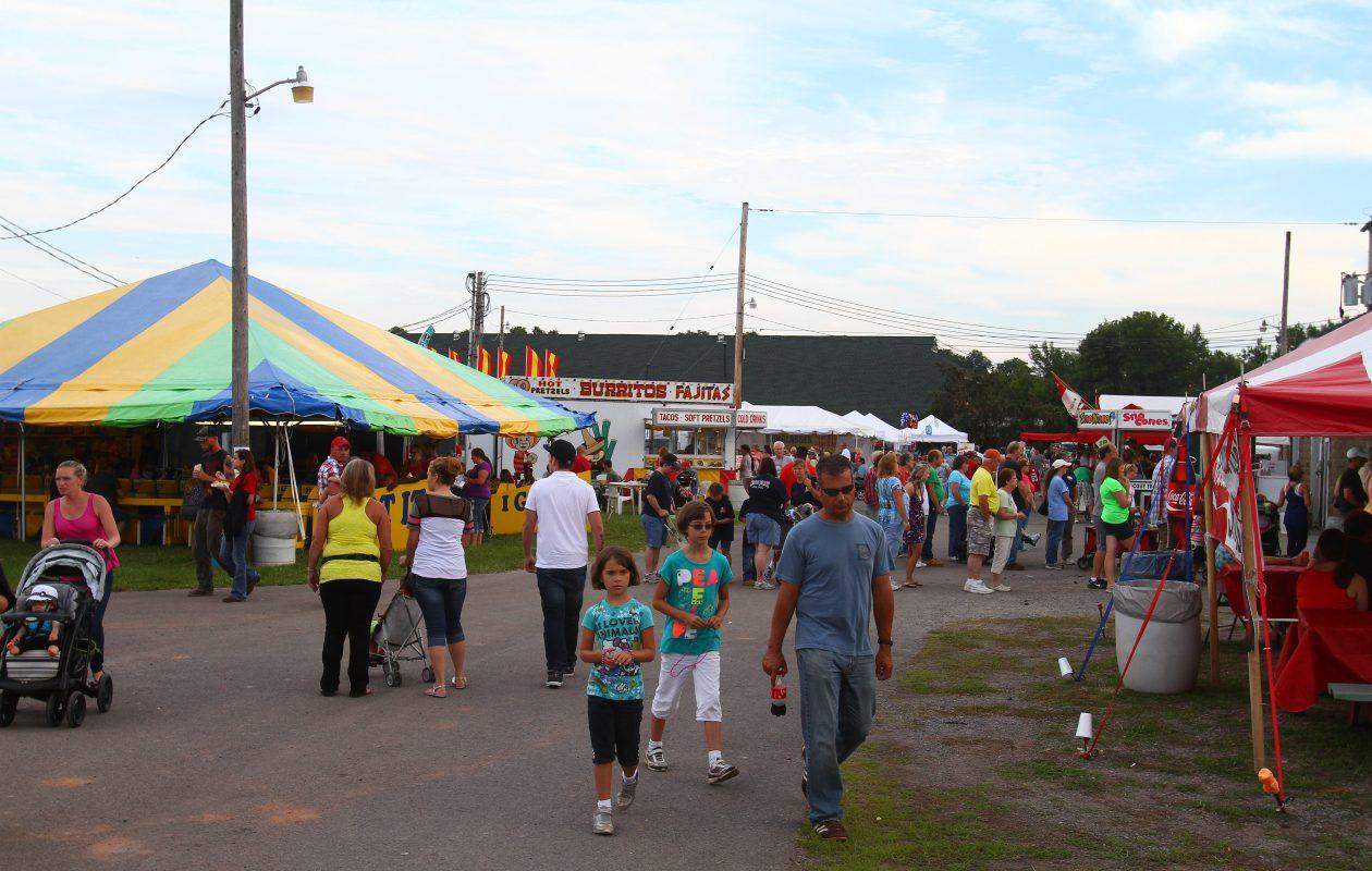 The Niagara County Fair runs today through Sunday. (John Hickey/Buffalo News)