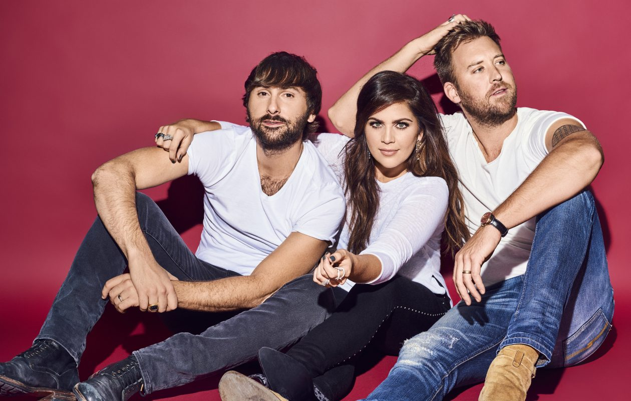 Dave Haywood, left, credits Lady Antebellum's longevity on the members' ability to say 'no' to each other.