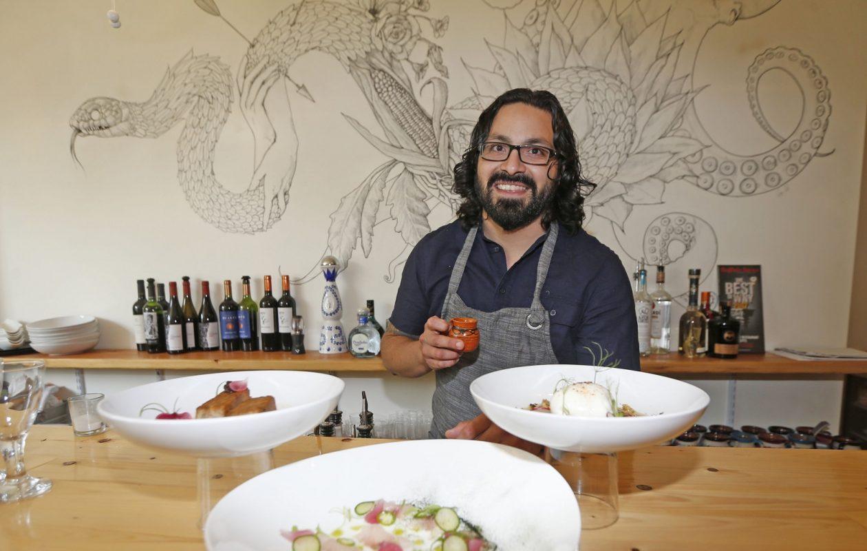James Beard nominated Chef Victor Parra Gonzalez takes the Nickel City Chef spotlight next month. (Robert Kirkham/Buffalo News)