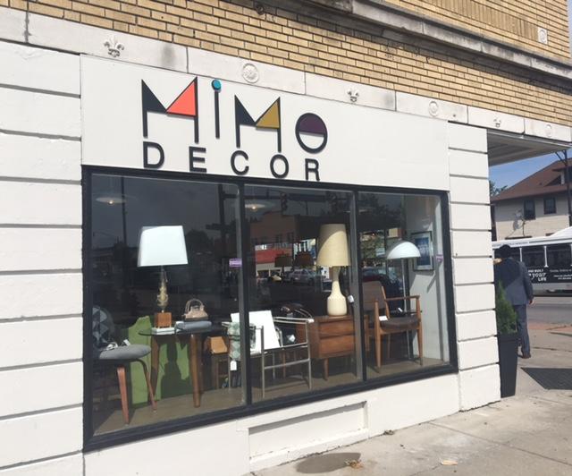 New furniture shop on Hertel Avenue.