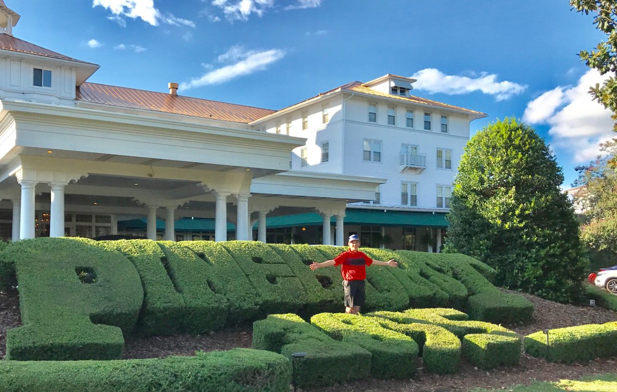 Lockport's Robbie Cehulik participated in the U.S. Kids Golf World Championship at Pinehurst Resort over the past few days. (Photo provided by Cyd Cehulik)