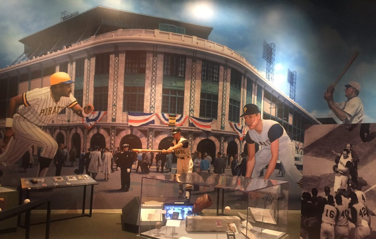 Forbes Field and the history of the Pittsburgh Pirates are one featured section of the Western Pennsylvania Sports Museum (Mike Harrington/Buffalo News).