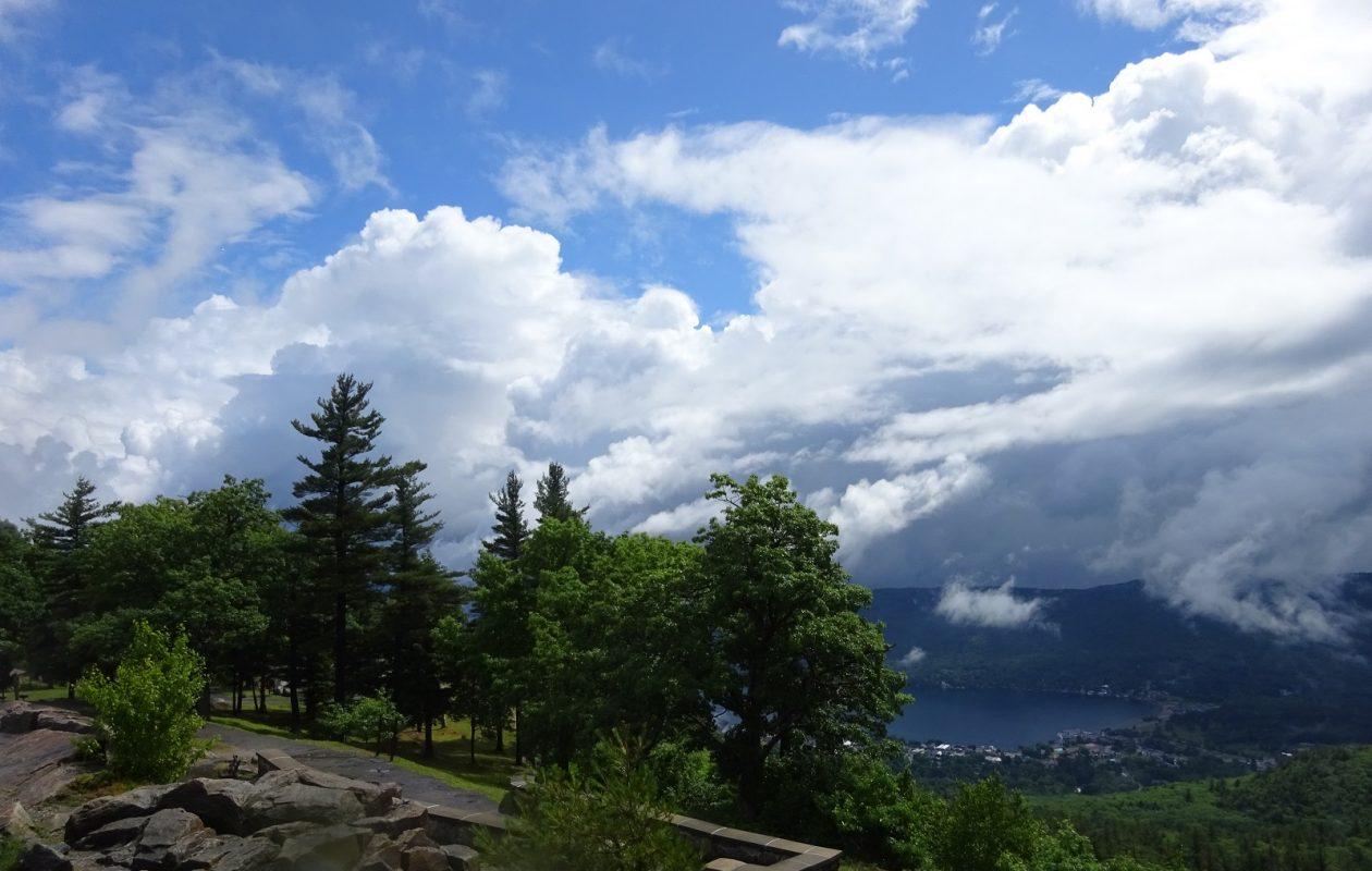 The view from Prospect Mountain, with Lake George in the distance. (Photo by Christine A. Smyczynski)
