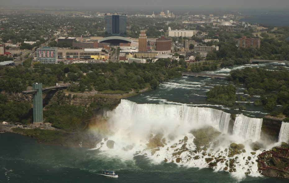 The American Falls as seen from the Skylon Tower in Niagara Falls, Ont. (Buffalo News file photo)