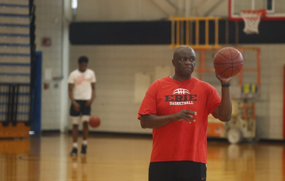 Alex Nwora, head coach for ECC, will coach the Nigerian national team at AfroBasket 2017 (John Hickey/Buffalo News)