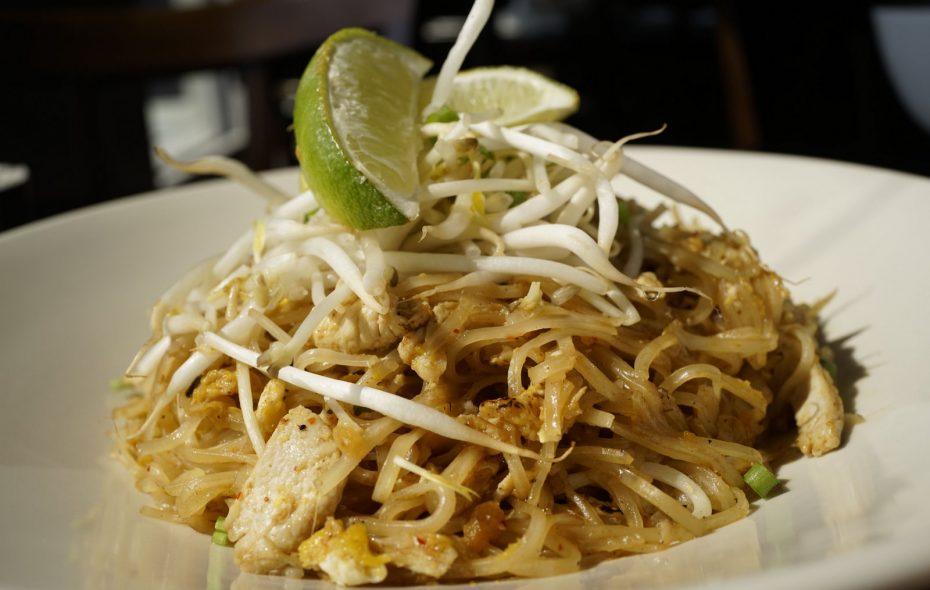 Pad thai, seen here at Saigon Bangkok in Hamburg, is now available at Wild Ginger. (Derek Gee/Buffalo News)