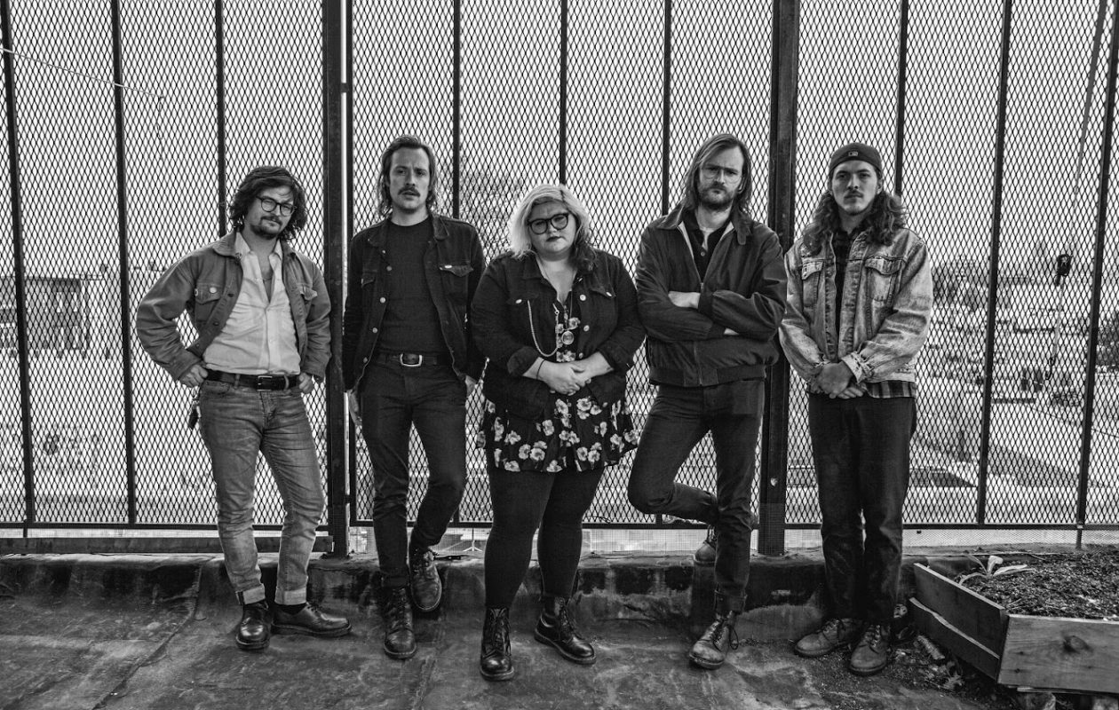 Philadelphia buzz band Sheer Mag plays Mohawk Place.