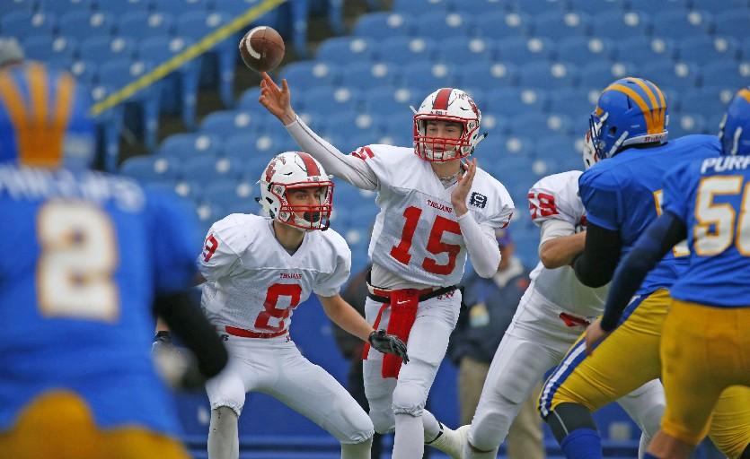 Southwestern quarterback Cole Snyder   (Harry Scull Jr./Buffalo News)