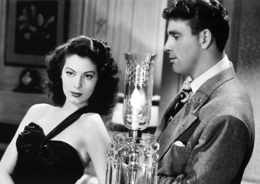 Ava Gardner and Burt Lancaster star in the film noir classic, 'The Killers.'