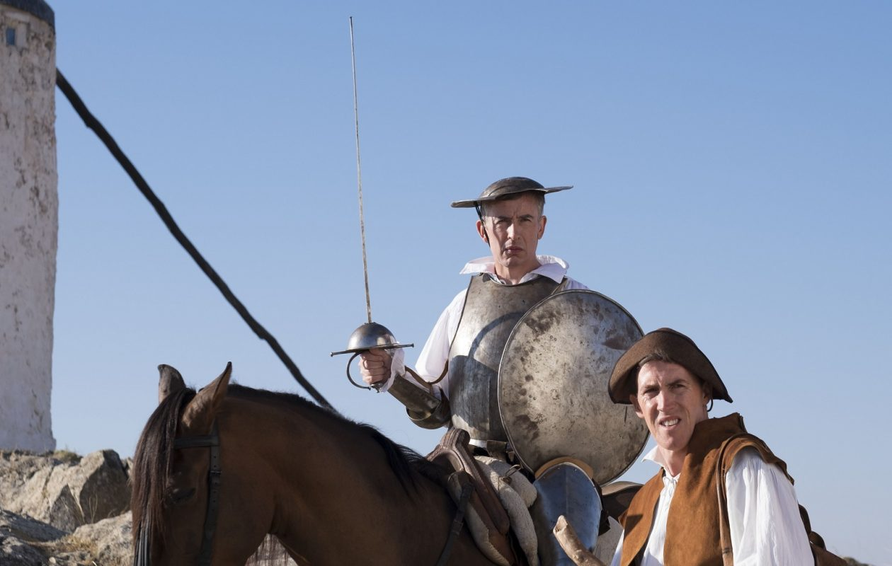 Steve Coogan and Rob Brydon take a 'Trip to Spain.' (Photo by Phill Fisk/ Courtesy of IFC Films.)