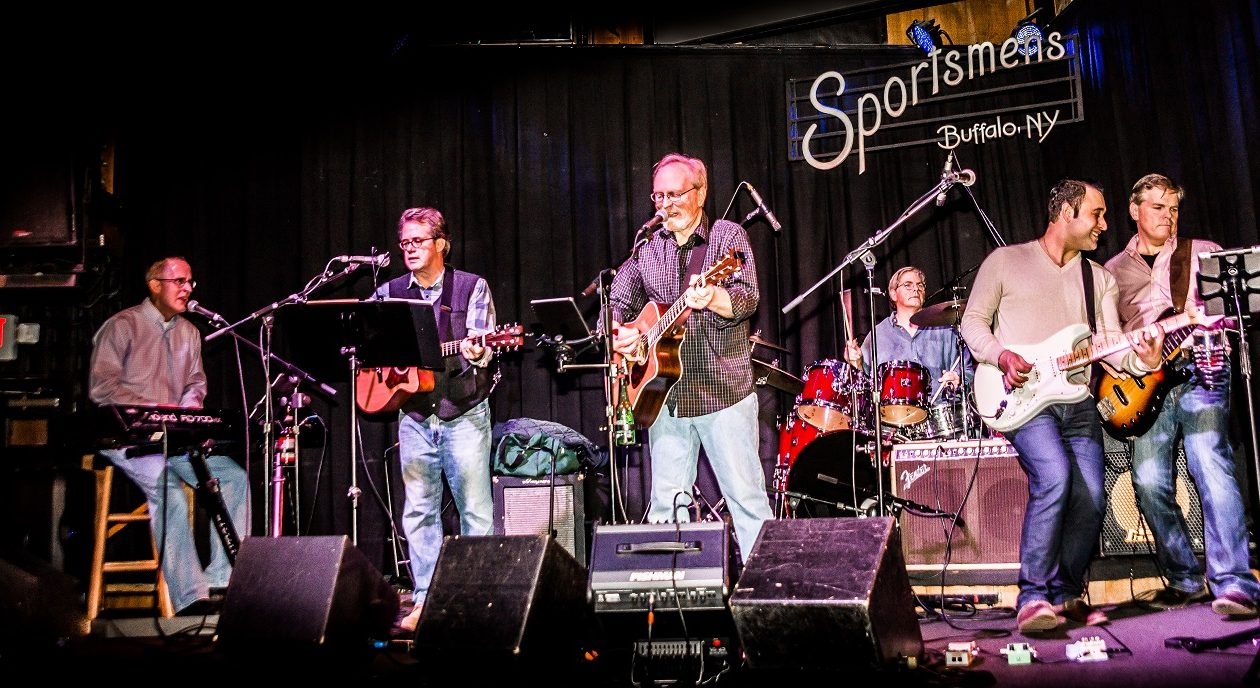 Judge Tim Franczyk, second from left, and his band, The Kensingtons. (Photo by Glenn E. Murray)