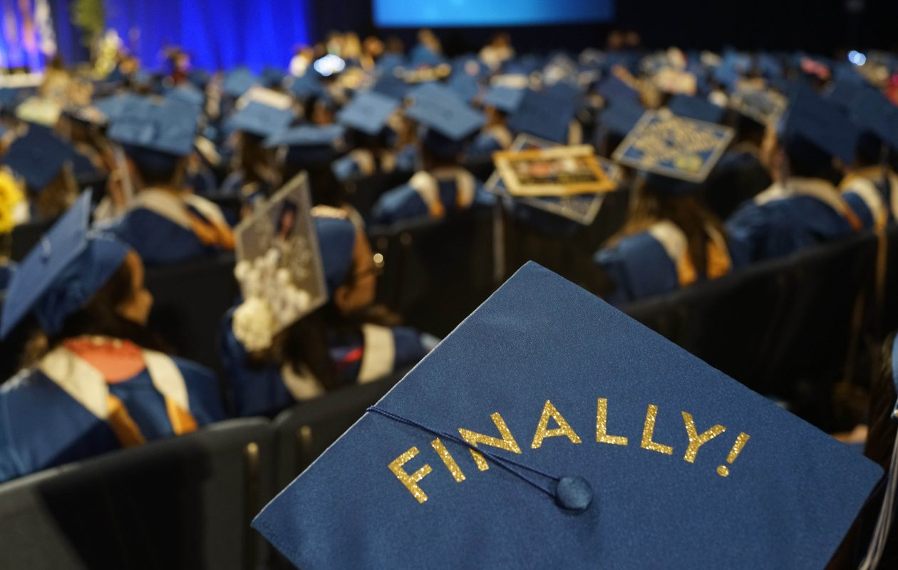 Students at SUNY schools were less likely to take out federal loans than students at private colleges, and they typically left school with less debt than their counterparts at non-profit private institutions. (Derek Gee/Buffalo News)