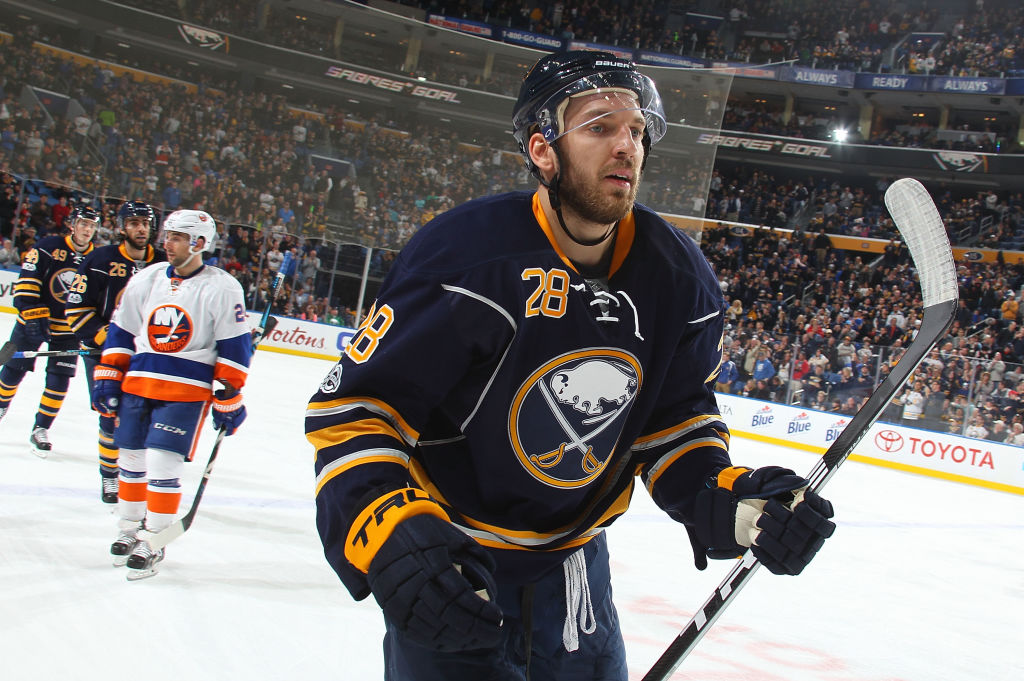 Zemgus Girgensons has just one goal this season. (Getty Images)
