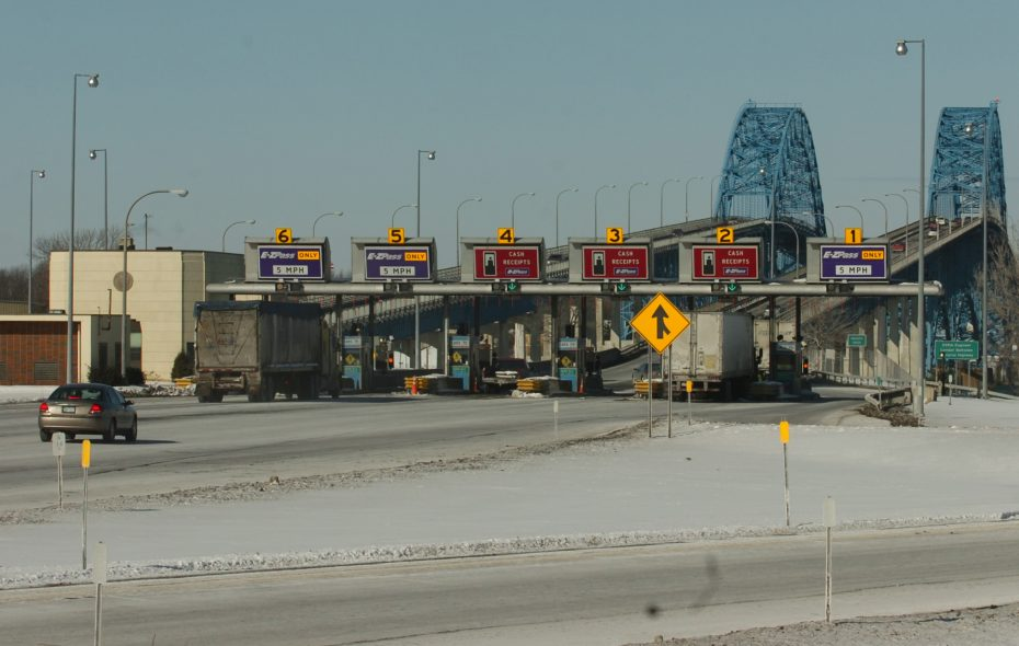 The toll booths on the Grand Island bridges have been an annoyance for decades. (Buffalo news file photo)