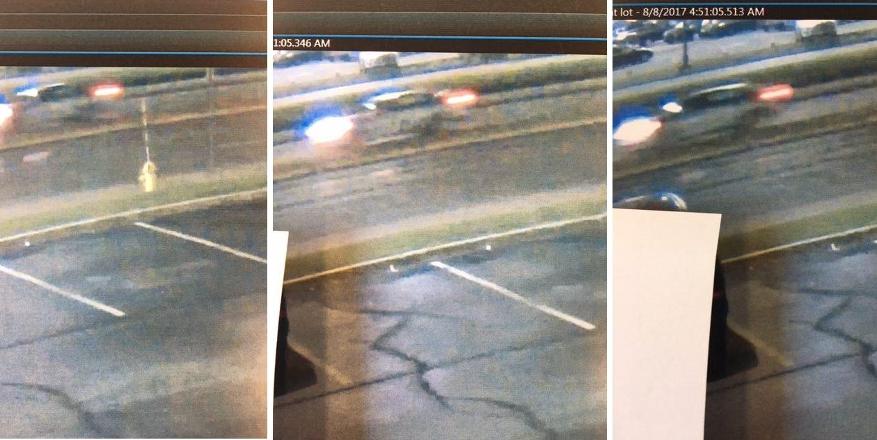 Three images of the car Cheektowaga police believe killed Robert Prigl of Depew and Fort Myers, Fla., on Genesee Street on Aug. 8. (Cheektowaga Police)