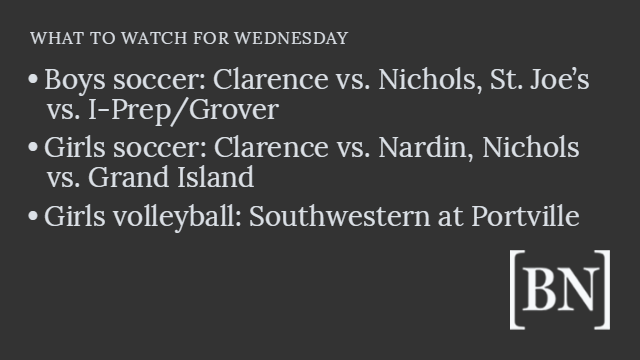 Homeroom Announcements: Wednesday's big games & more