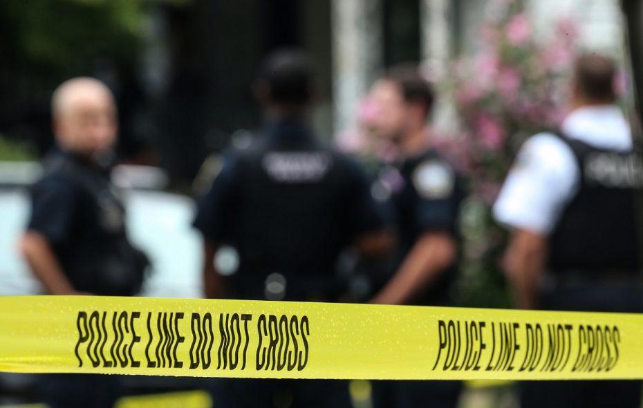 Buffalo Police investigate a fatal shooting on Detroit Street on July 27, 2017.  (Derek Gee/Buffalo News file photo)