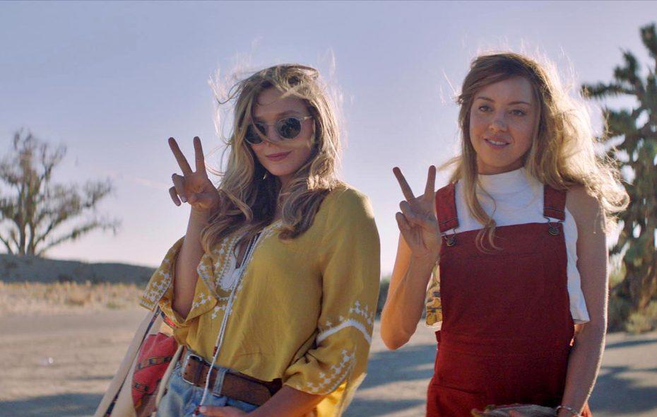 """Taylor (Elizabeth Olsen), left, and Ingrid (Aubrey Plaza) in """"Ingrid Goes West."""" (NEON)"""