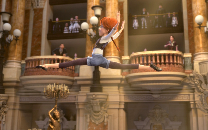 An 11-year-old orphan named Felicie (voiced by Elle Fanning) pursues ballet in 1870s Paris in 'Leap!' (The Weinstein Company)