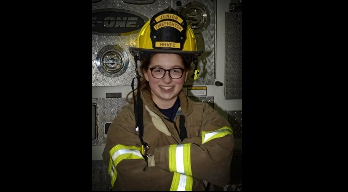 Amelia Rockwell of Clarence Center was one of three local students awarded a scholarship from the Firemen's Association of the State of New York (FASNY)