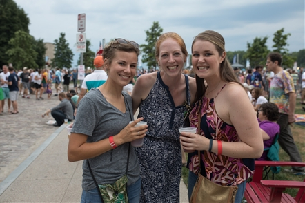 Smiles at Dark Star Orchestra at Canalside