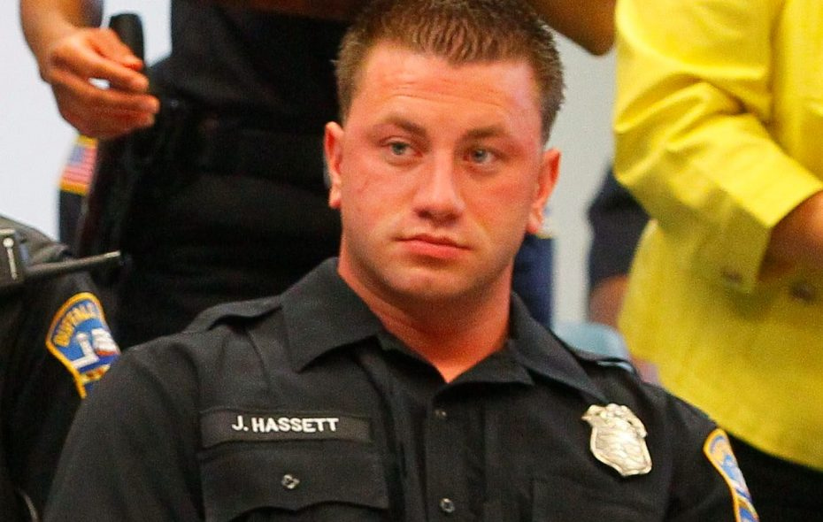 Buffalo Police Officer Joseph Hassett, who was placed on desk duty after the Erie County district attorney told Buffalo police Hassett wasn't credible enough to use as a witness in criminal cases.(News file photo)