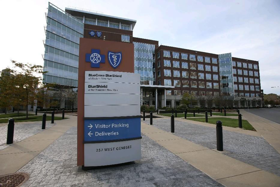 HealthNow New York's headquarters. (Buffalo News file photo)