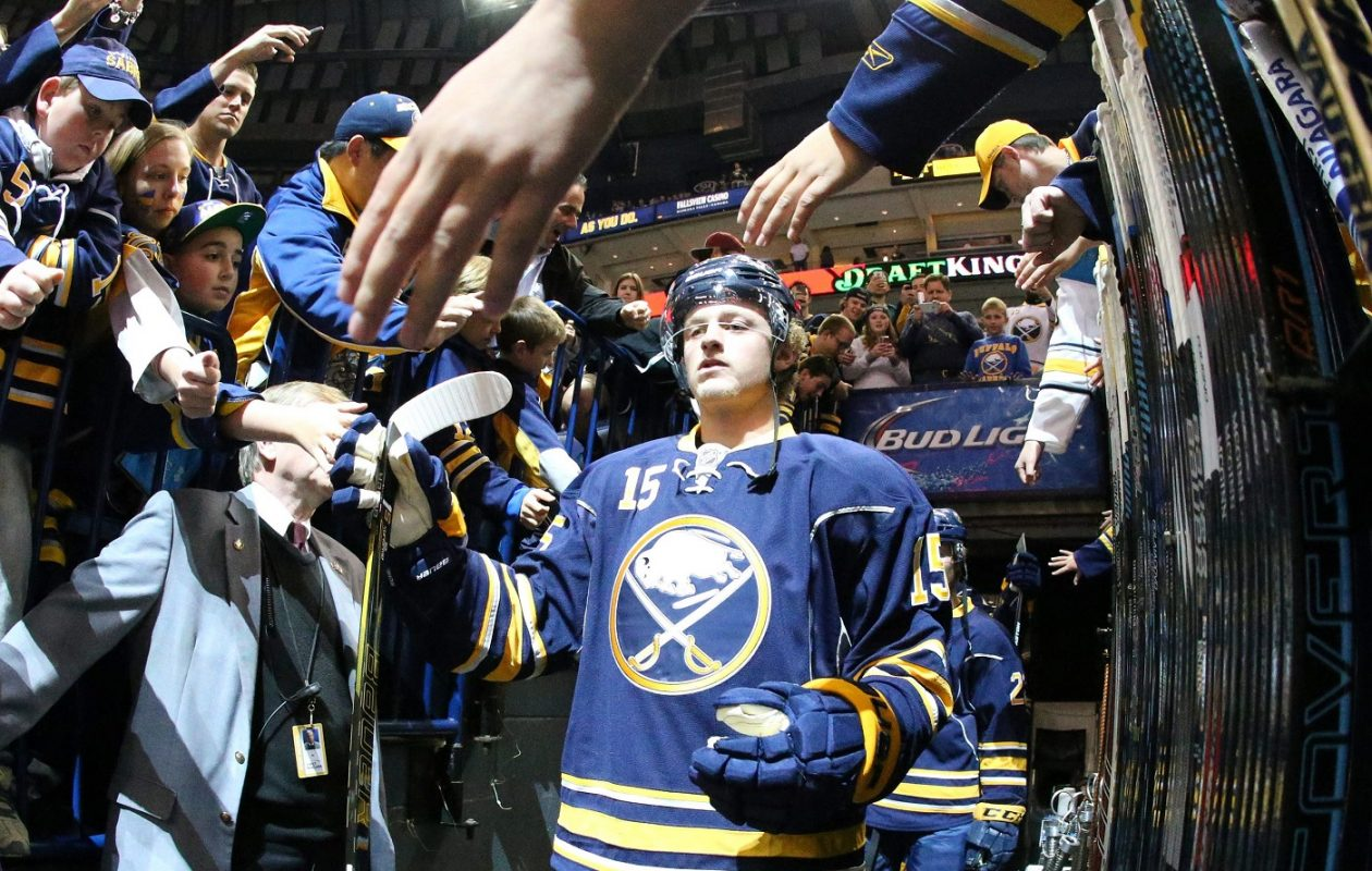 Jack Eichel returns to Boston as the Sabres bring their parents along for the ride. (James P. McCoy/ Buffalo News File Photo)