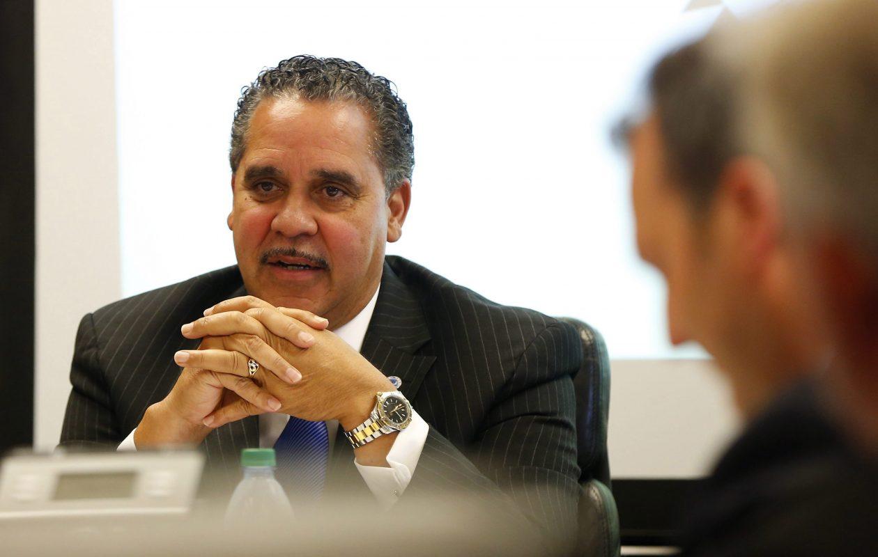 New Buffalo Schools Superintendent Kriner Cash. (Mark Mulville/Buffalo News)