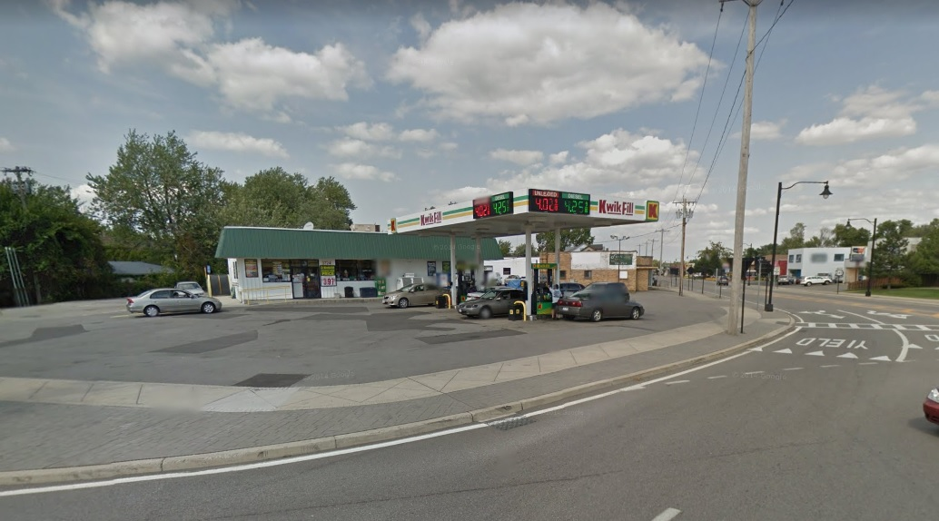 A winning Powerball ticket was sold at this gas station at Harlem Road and Cleveland Drive in Cheektowaga. (Google StreetView)