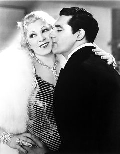 Mae West and Cary Grant in 'I'm No Angel' (1933).