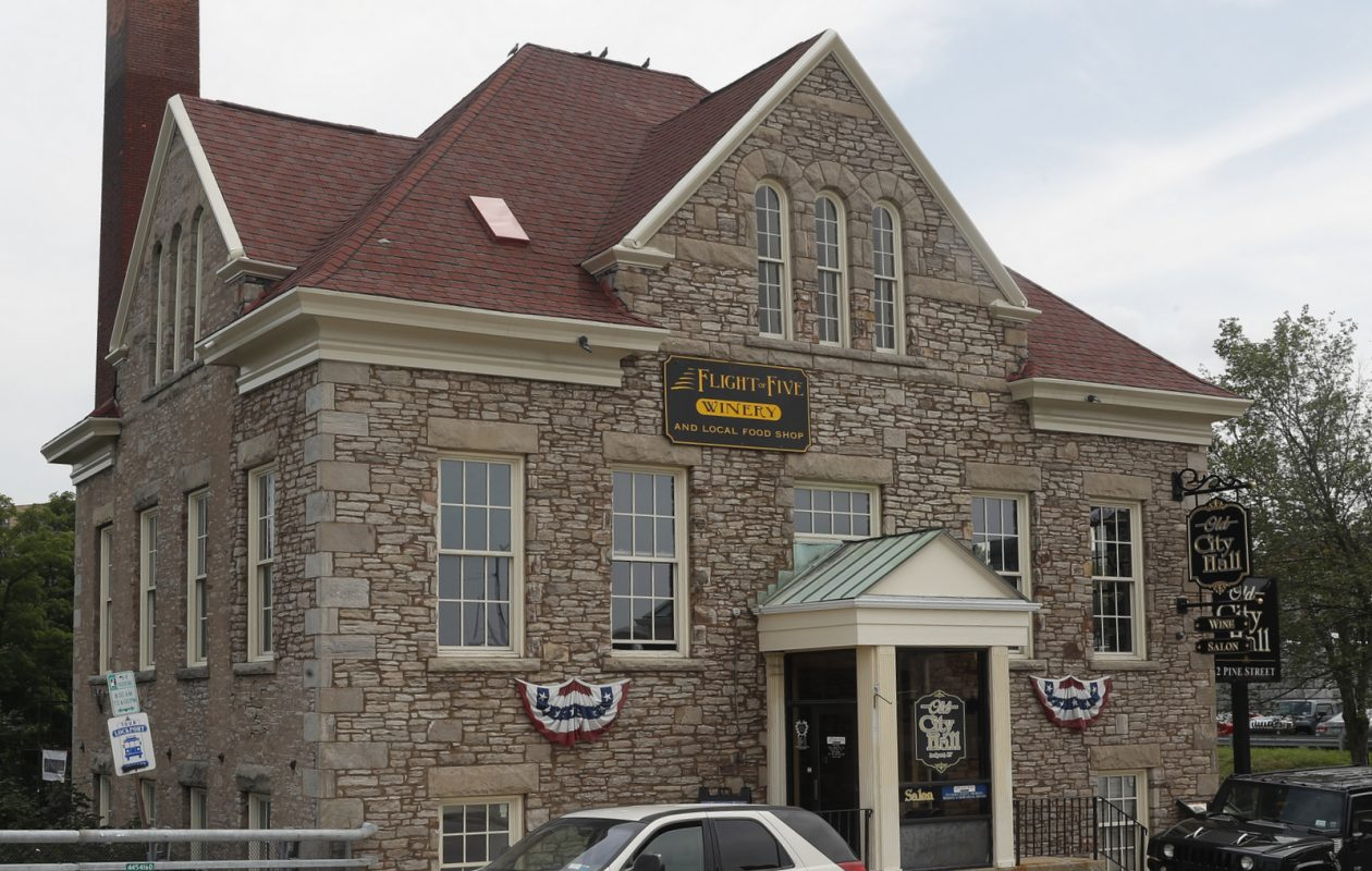 Lockport's old City Hall holds a winery, which will be joined by a burger bar. (John Hickey/Buffalo News file photo)